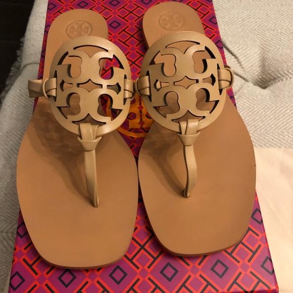 0978209dd1a Tory Burch Miller Square toe sandals. M_5ba82b63619745565add8bb4